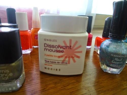 bains dissolvant nocibé