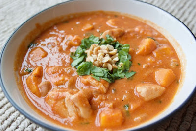 Chicken Peanut Butter Stew