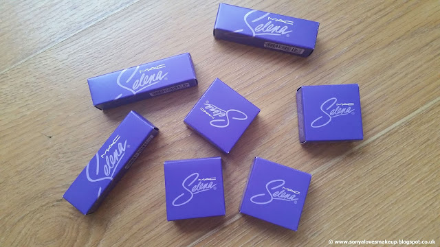 MAC Cosmetics, Selena, MAC X SELENA, Selena Collection, Selena Quintanilla, Fotos Y Recuerdos, Selena, No Me Queda Mas, Is It The Beat, Amor Prohibido, Como La Flor, Dreaming Of You, lipstick, eyeshadow