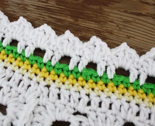 Crochet edge tutorial