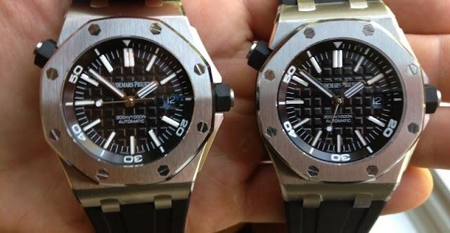 Tuy có lớp vỏ giống đồng hồ thật, nhưng bộ máy bên trong là của đồng hồ Nhật Bản