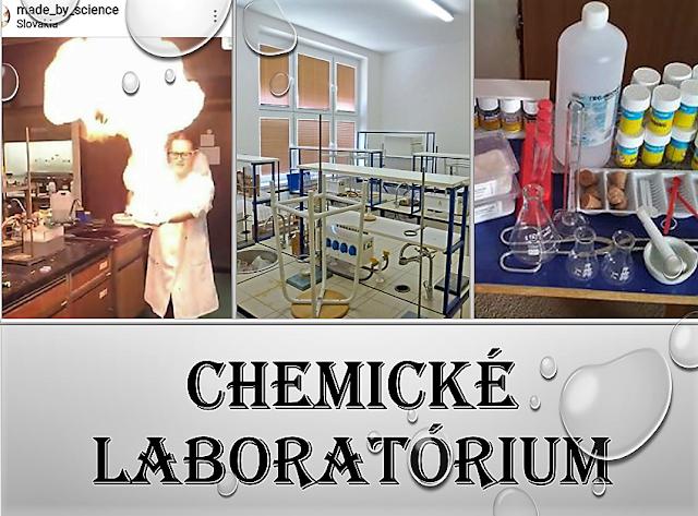 Chemické laboratórium, najlepšia časť školy!