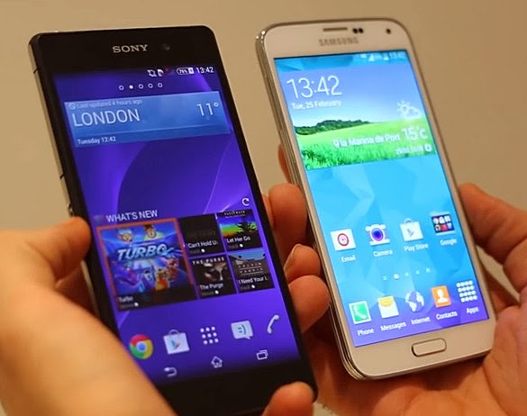 Samsung Galaxy S5 vs Sony Xperia Z2, Samsung Galaxy S5 Philippines