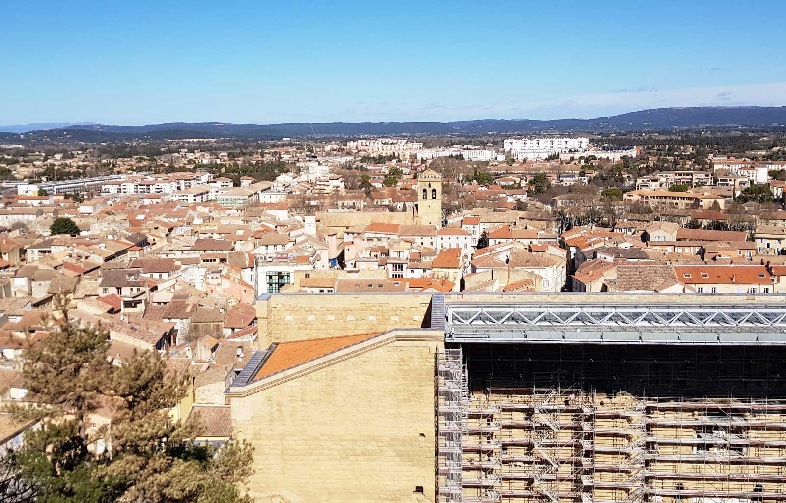 Orange vue colline saint eutrope