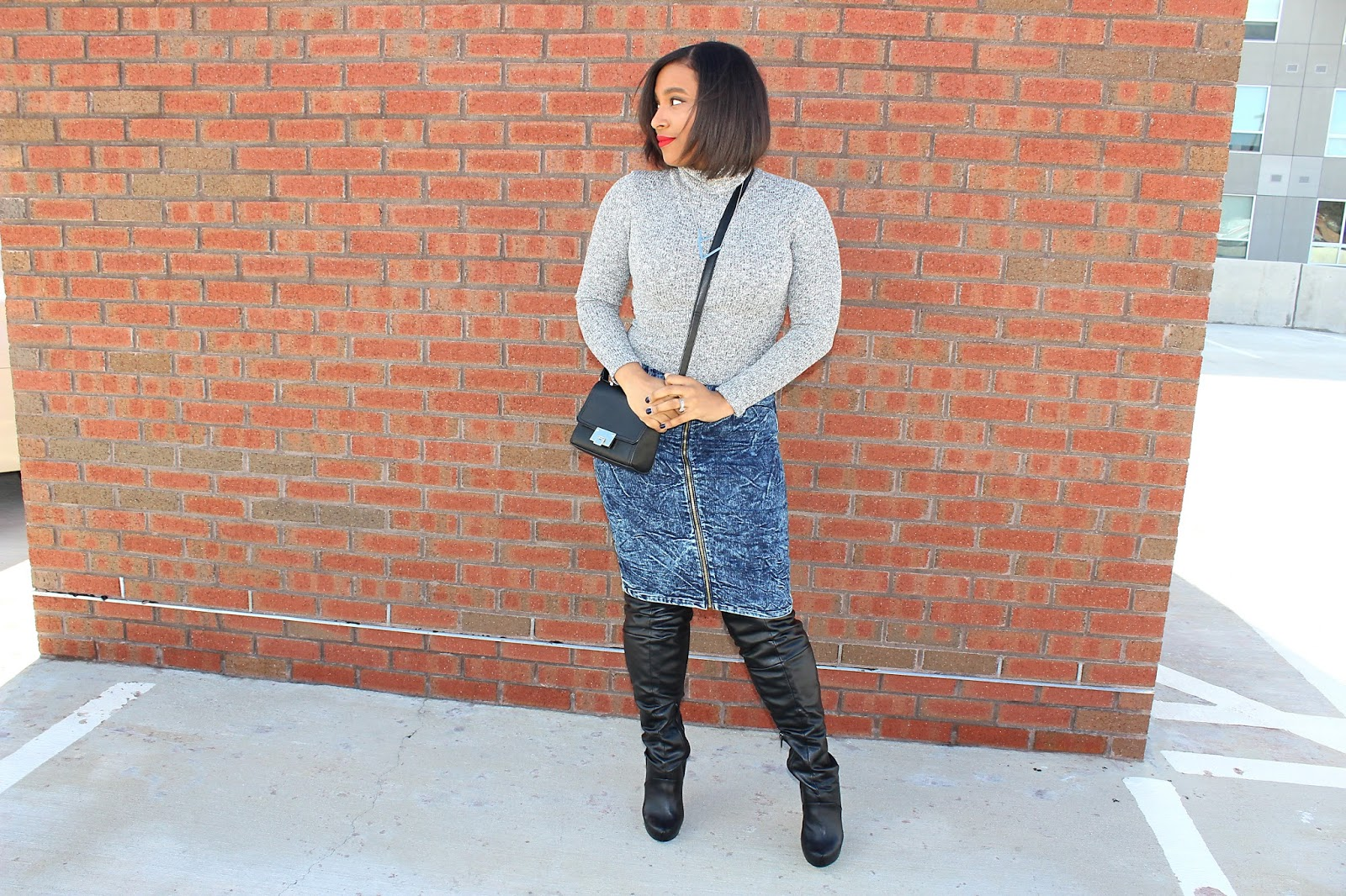 otk boots, over the knee boots, how to wear oak boots, midi skirt, blogger, fashion tips, boots