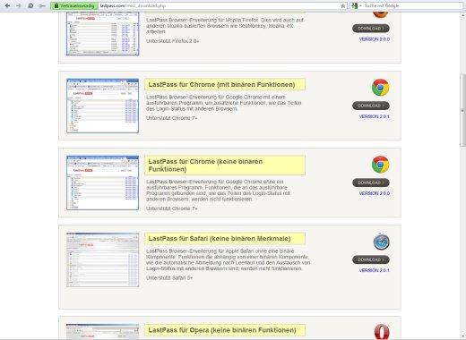 Lastpass Firefox 66