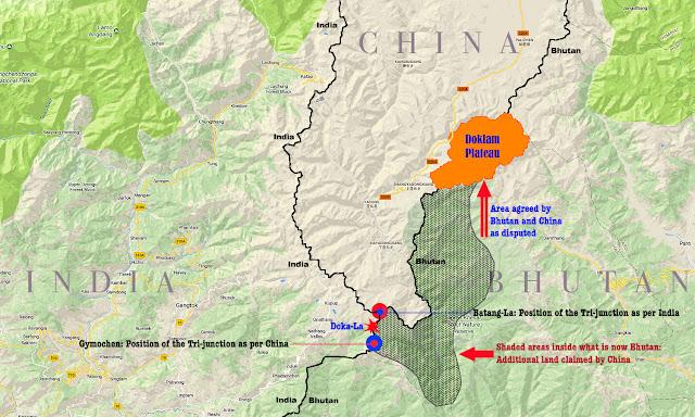 Doklam Map 3