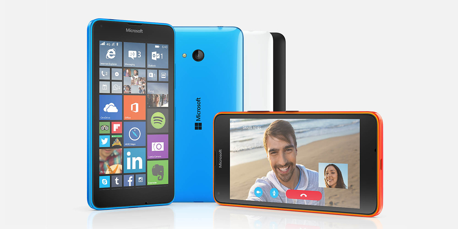 Microsoft Lumia 640 LTE ve Windows Phone
