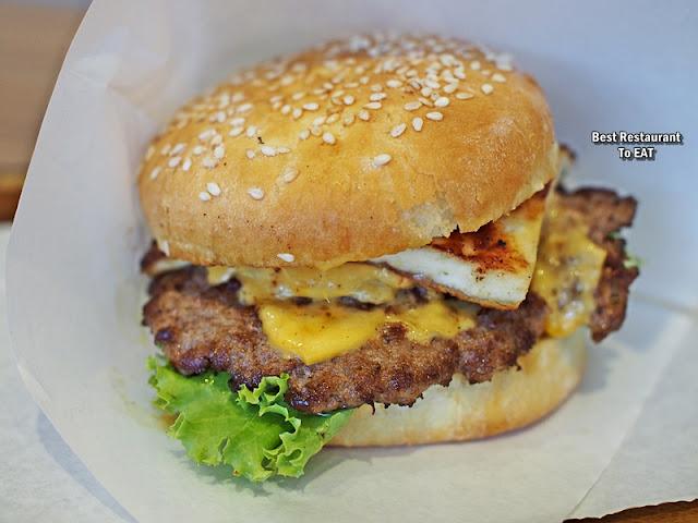 Harley's Menu - Cheese Burger