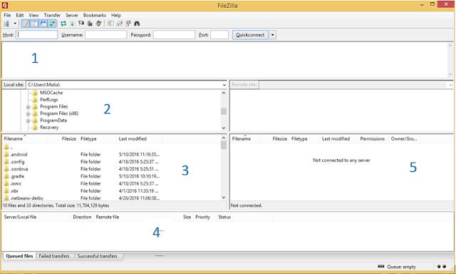 2 4 - Cara Gampang Upload File Website Ke Web Hosting Memakai Filezilla