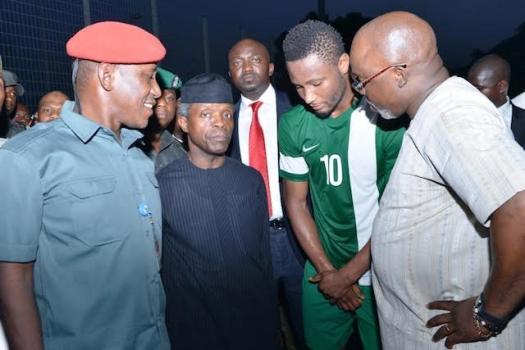 'VP Yemi Osinbajo's visit has motivated us against Algeria' – defiant Mikel Obi says ahead of WC qualifier