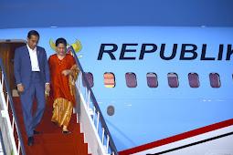Usai Resmikan Jalan Tol Gempol-Pasuruan, Presiden Jokowi Tiba di Bali