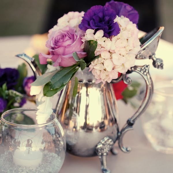 Spring Wedding Centerpiece Ideas: Beautiful Bridal: Spring Wedding Centerpieces