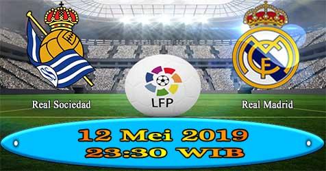 Prediksi Bola855 Real Sociedad vs Real Madrid 12 Mei 2019