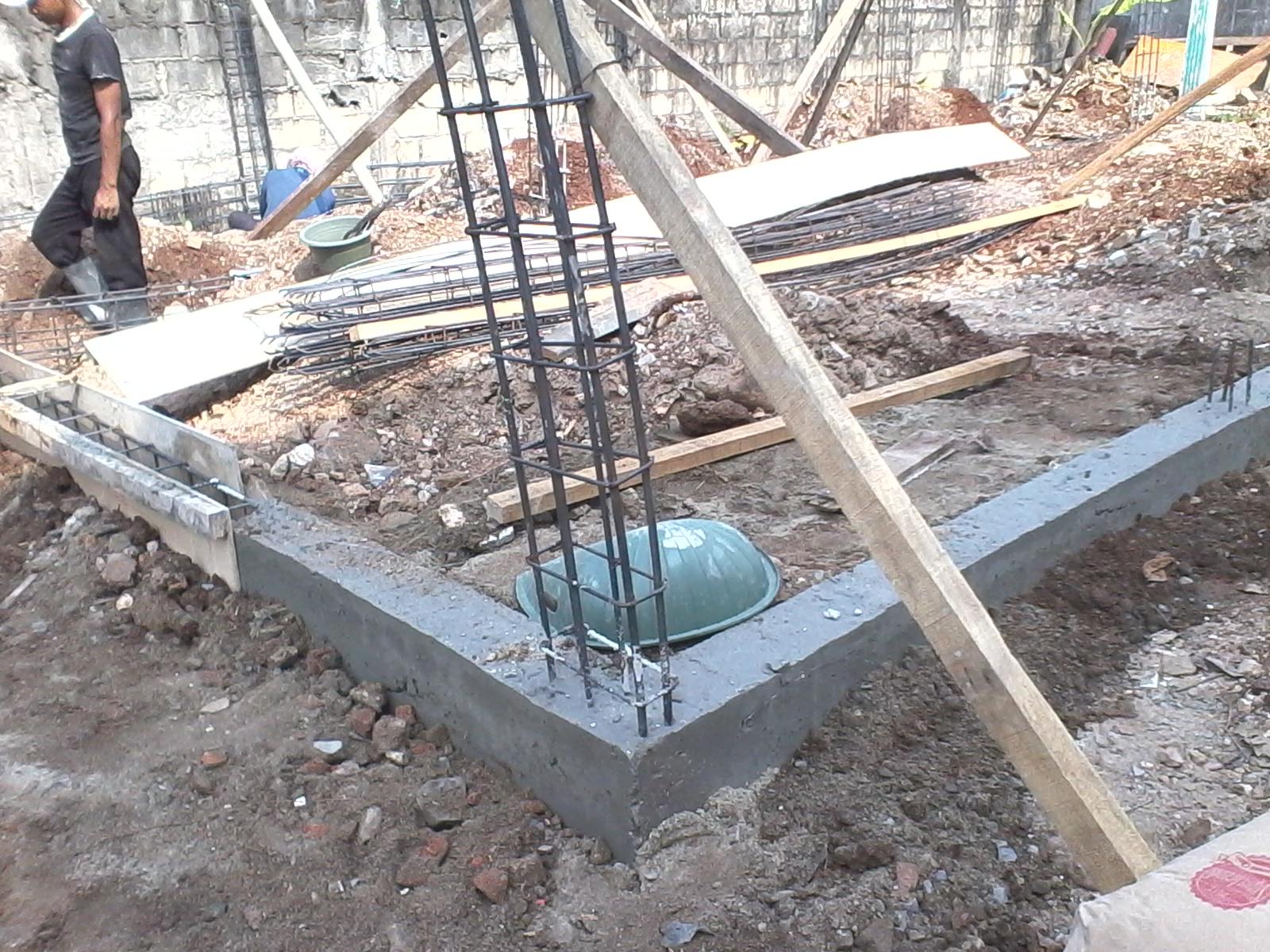pondasi dengan baja ringan www banguncitrajaya blogspot com slop
