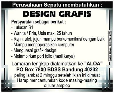 Loker Design Garfis di Bandung