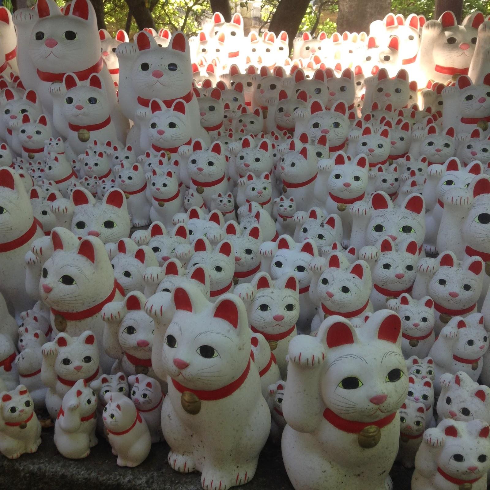 Gohtokuji Tokyo Lucky Cat