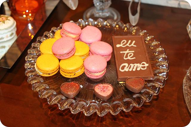 Macarons e Bombons : Decoração do Jantar Dia dos Namorados