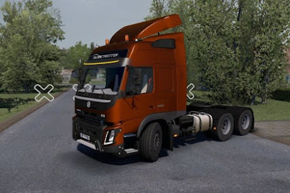 Volvo FMX fix v1.0 - ETS2 v1.34