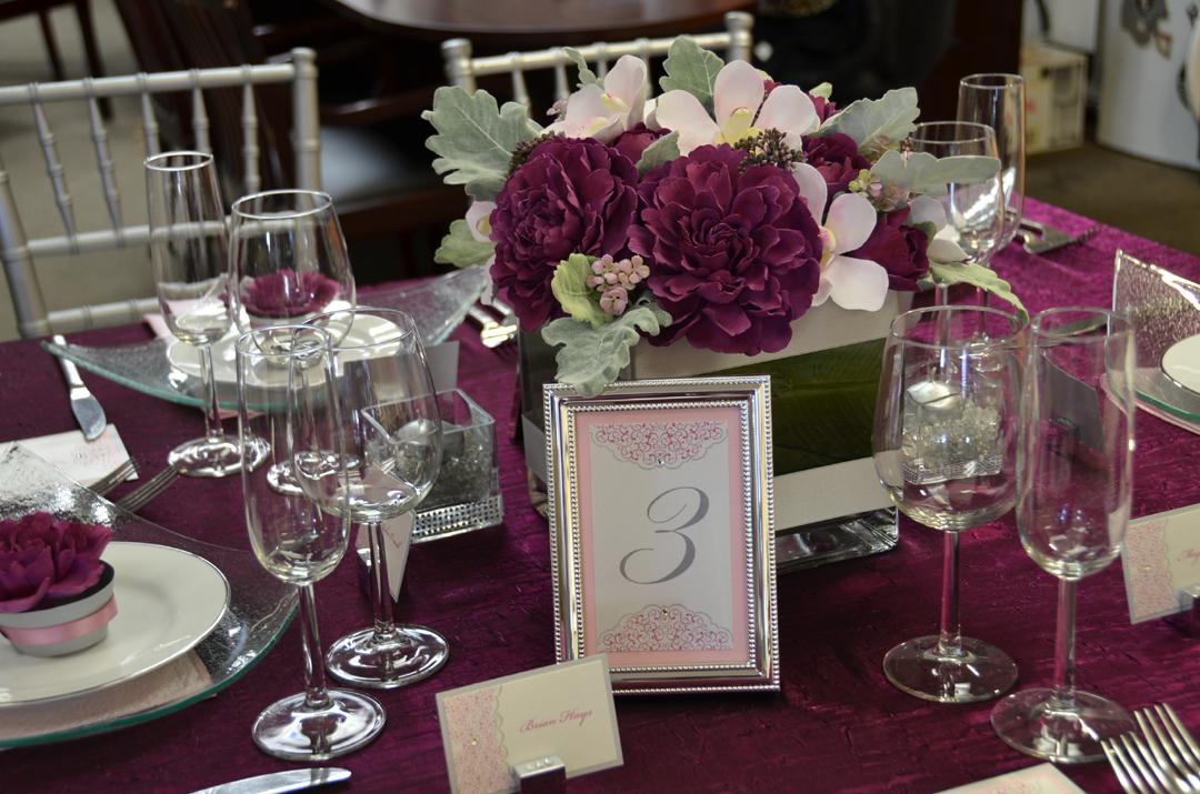 Enchanting Events: Enchanting Events Blog: Modern Romance Table Design