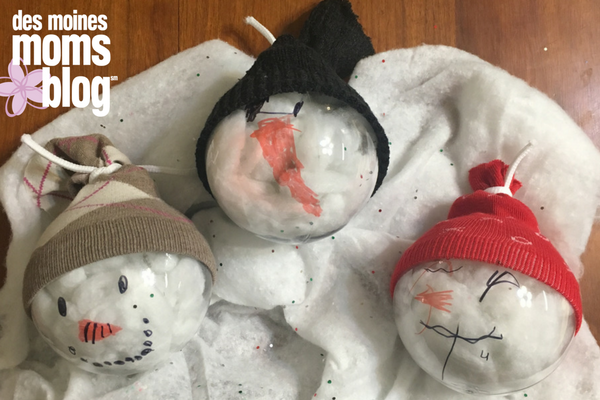 Bybmg Des Moines Moms Blog Simple Diy Snowman Ornaments