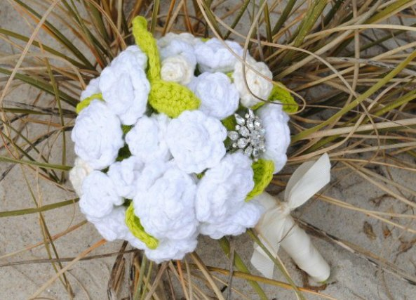 flowers, bouquet, crochet, ramo, flores, ganchillo, boda