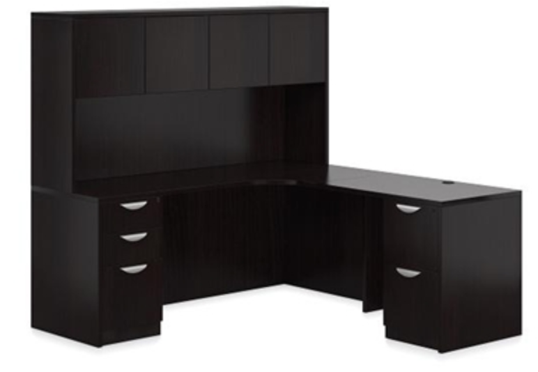 Espresso Corner Desk by Offices To Go