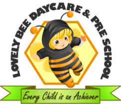 Lovely Bee Day Care Logo