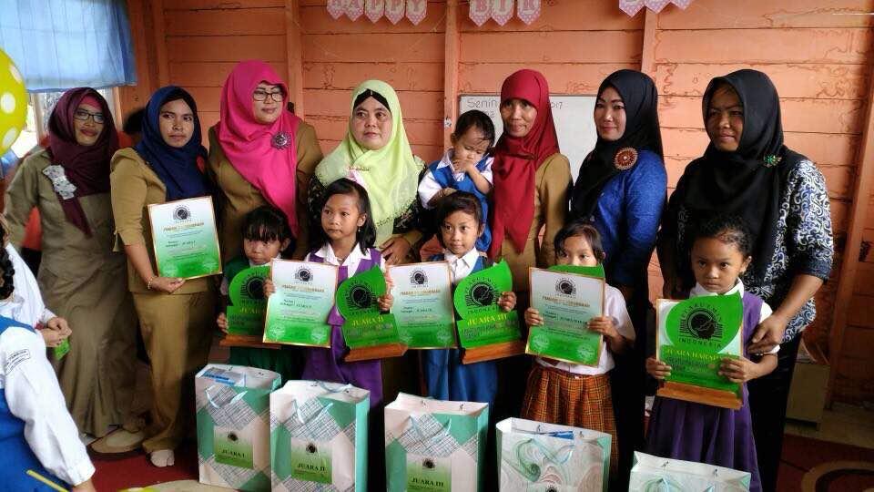 Peringati Hari Lingkungan Hidup Pt Aits Gelar Lomba Mewarnai