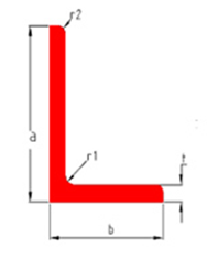 Unequal Dimensions Arm Angle Bar