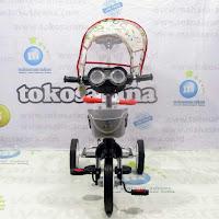family f919ht nikel krom sepeda roda tiga bmx