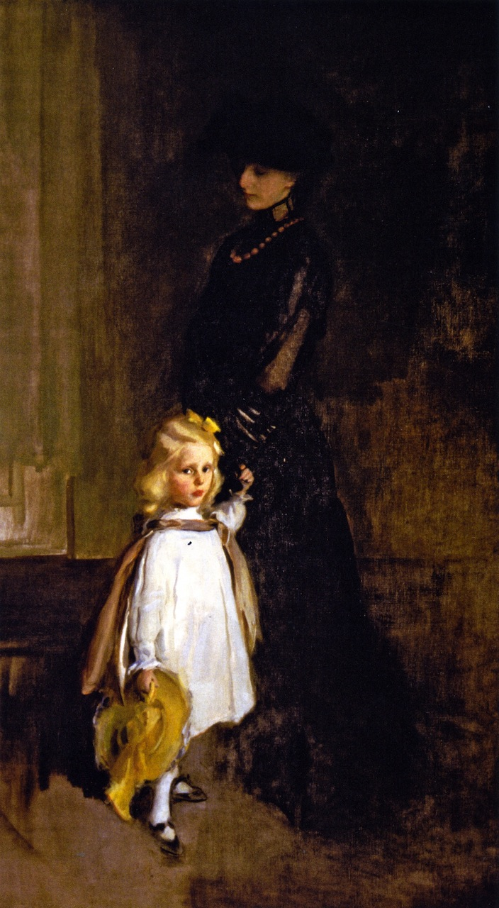 Portrait Paintings by Cecilia Beaux (1855 - 1942)