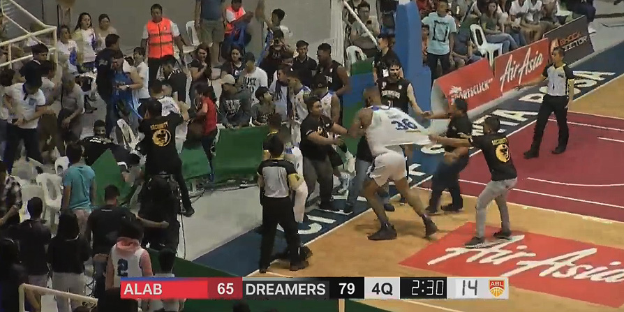 Alab Pilipinas - Formosa Dreamers SCUFFLE (VIDEO) March 17