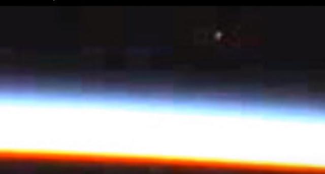 NASA corta transmisión cuando un OVNI entra a la Tierra