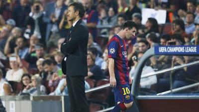 Có thật Enrique không biết gì về tương lai Messi?