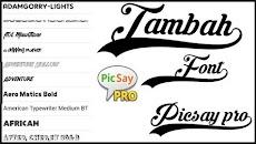 Download Font Picsay Pro Lengkap Dengan Cara Menambahkannya