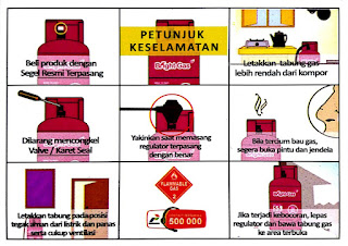 Petunjuk Pemasangan LPG Aman