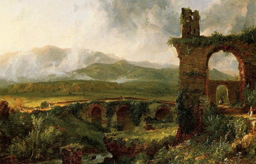 American Paint And Wallpaper Fall River Thomas Cole Founder Of The Hudson River School Tutt