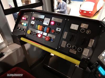 Tramwaje Śląskie, zmodernizowana kabina wagonu Konstal 105Na