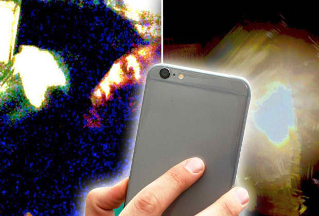 Chinese Man Filmed An Alien Abduction In His Smartphone