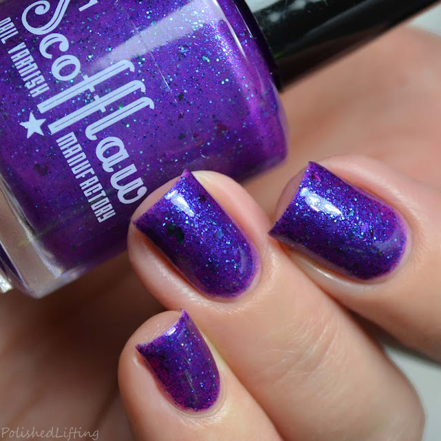 purple jelly nail polish