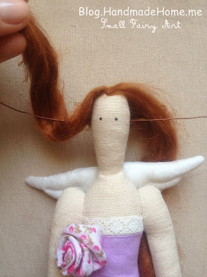Тильда ангел волосы