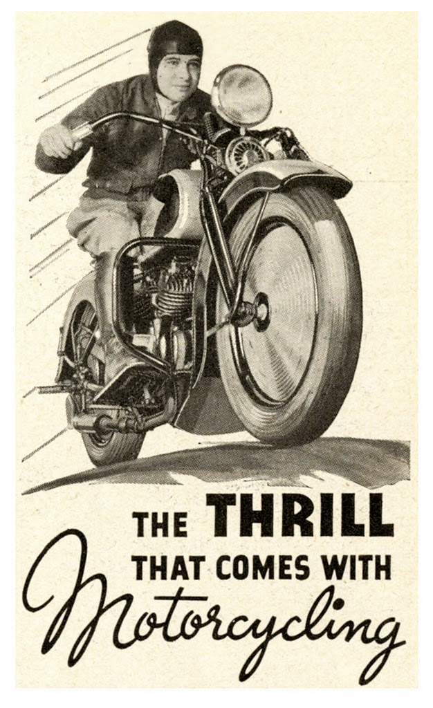 Cafe Racer Girl Wallpaper Expresh Letters Blog Vintage American Advertising Typography