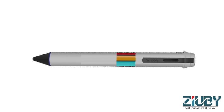 Scribble Pen Drawing : Web designing development scribble pen
