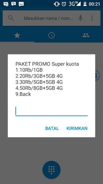 Promo Paket Internet Telkomsel 5GB Cuma Rp30ribu 2017