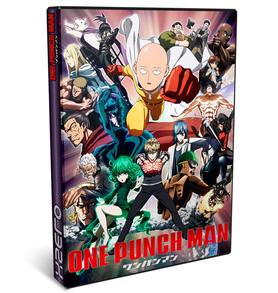 One Punch Man Complete - One Punch Man | 12/12 + OVAS | BD + VL | Mega / 1fichier / Openload