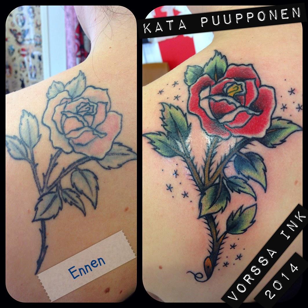 Tattoos By Kata Puupponen: Tattoos By Kata Puupponen: Elokuuta 2014