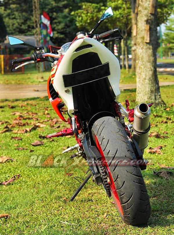 Motor Drag Ninja  Modifikasi Motor Honda CS1 Adopsi Kaki