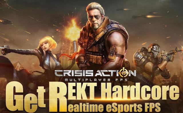 Crisis Action-eSports FPS Apk Mod Gratis Terbaru
