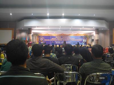 Gladi Resik Wisuda di Samantha Krida Universitas Brawijaya